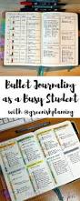bullet journaling as a busy student with greenishplanning