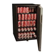 coca cola fridge glass door haier 4 6 cu ft beverage center walmart com