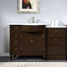 off center sink bathroom vanity 45 bosconi sb 255 vanity set contemporary bathroom vanities