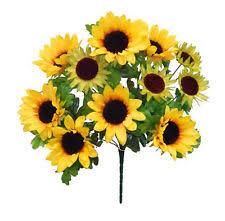 silk sunflowers silk sunflowers wedding single flowers ebay