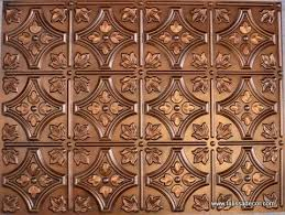 Best Faux Tin Backsplashes Images On Pinterest Antique Copper - Pvc backsplash