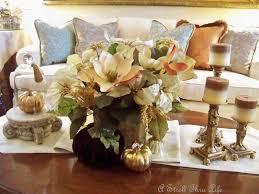 coffee table floral arrangements a stroll thru life coffee table christmas glitz