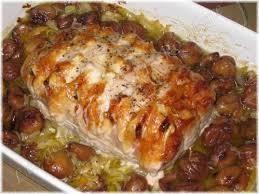 cuisiner un roti de porc au four rôti de porc orloff et ses marrons au miel