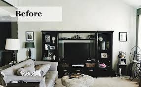 livingroom makeover before after industrial living room makeover wayfair