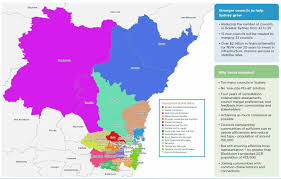Councils Of Melbourne Map Forced Amalgamation Maps Of Doom Released Nsw Council Mergers