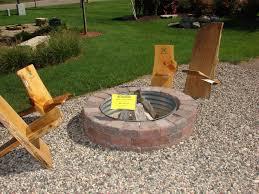 Backyard Propane Fire Pit by Interior Patio Fire Pit Ideas Fire Pit For Deck Unique Fire Pits