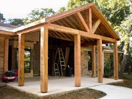 texas style porch spivey construction
