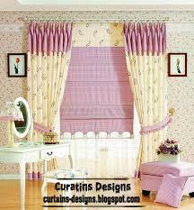 Curtain Style Romantic Curtain Design Ideas Blue Heart Style