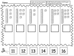 kindergarten place value worksheets austsecure com