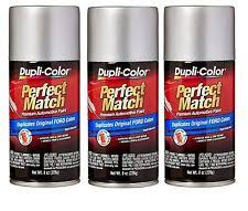 dupli color silver automotive touchup u0026 spray paint ebay