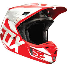 fox helmet motocross all new fox racing 2015 v2 race helmet red gloss finish wide