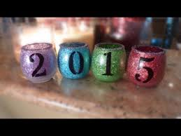 Diy New Years Eve Decorations 2015 by Diy New Year U0027s Decoration 2015 Jars Youtube