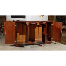 french curved door art deco sideboard j tribble