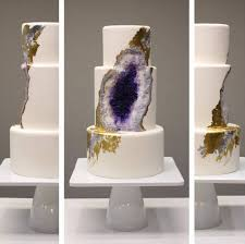 where can i get an edible image made look at this amazing wedding cake made from edible geode crystals