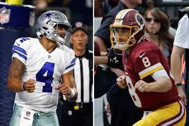 Dallas Cowboy Thanksgiving Game Cowboys Redskins Both Rolling For Thanksgiving Showdown Wtop