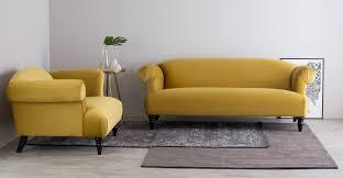 3 sitzer sofa claudia 3 sitzer sofa samt in antikgold made com