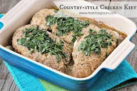 country style chicken kiev manila spoon