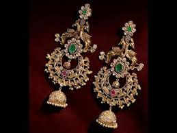 chandbali earrings gold chandbali earrings