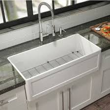 Julien Kitchen Sink Fira Collection Single Undermount Fireclay Kitchen Sink W