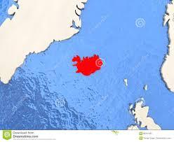 Iceland Map World Iceland On Map Stock Illustration Image 86701493