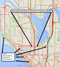 seattle map traffic view
