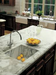 Kitchen Counter by 36 Marbled Countertops To Ignite Your Kitchen Revamp
