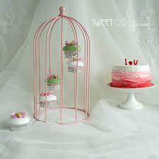 Cupcake Decorating Tools Aliexpress Com Buy Sweetgo Pink Birdcage Cupcake Decorating
