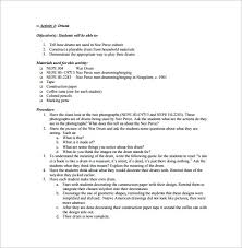 music lesson plan template u2013 7 free word excel pdf format