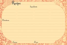 printable recipe cards 4 x 6 free printable recipe cards call me victorian