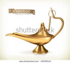 magic lamp and lantern vectors download free vector art stock