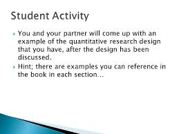 describe the defining characteristics of quantitative research