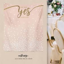Wedding Shower Decorations by Wedding Backdrop Engagement Backdrop Bridal Shower Decorations