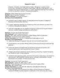 Online Instructor Resume Howard Loken U0027s Adjunct Assistant Professor Resume 2016
