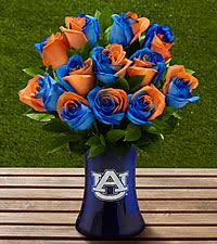 auburn florist send blue and orange roses and flower arrangements from ftd