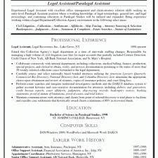 Paralegal Resume Tips Cover Letter Sample Entry Level Paralegal Resume Sample Entry