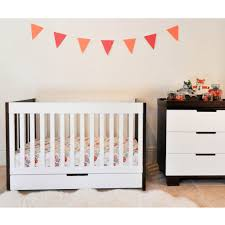 Babyletto Modo 3 In 1 Convertible Crib by Bedroom Babyletto Hudson White 3in1 Convertible Crib On Sandy