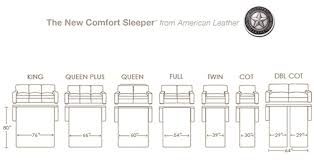 Comfort Sleeper American Leather American Leather Furniture Sofa Chair Sleepers Beds And Benches