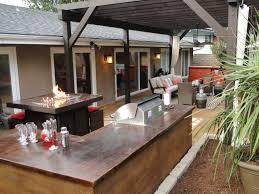 kitchen patio ideas outdoor kitchen patio designs fire pit unusual backyard idea