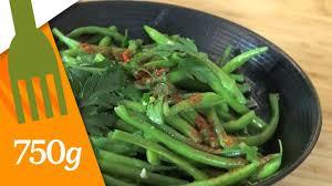 cuisiner des haricots verts recette de haricots verts au beurre 750 grammes