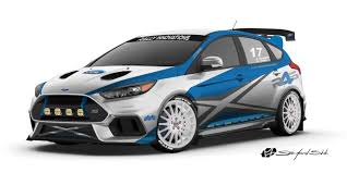 ford heats up the hatch game at sema 2017