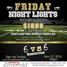 Cash Friday Night Lights Zps Friday Night Lights Tournament Zoneplay Sports