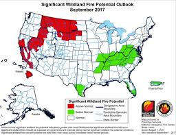 Current Wildfire Map Idaho by Near Record Fuel Loads In West Increase Wildfire Danger Idaho