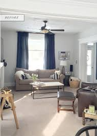 Farmhouse Sitting Room - before u0026 after farmhouse living room redesign earnest home co