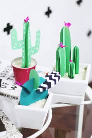 Diy Paper Home Decor by Diy Paper Cactus Is Cheap Decor That Looks Surprisingly Awesome