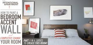 How To Paint A Bedroom Accent Wall And Completely Change Your Room - Bedroom accent wall colors