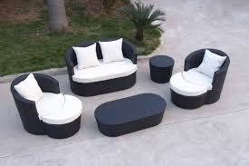 Patio Sectionals Clearance by Patio Furniture Bermuda Piece Circular Sofa Set Di2 Patio