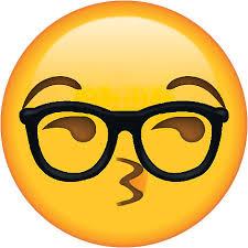 Nerd Glasses Meme - sexy glasses nerd secret emoji funny internet meme stickers by