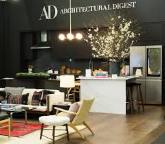 Architectural Digest Kitchens by A Look At The Ad Apartment At The Architectural Digest Design Show