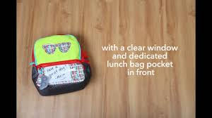 Brown Bags With Clear Window Skip Hop Forget Me Not Kids Backpack U0026 Lunch Bag Set Youtube