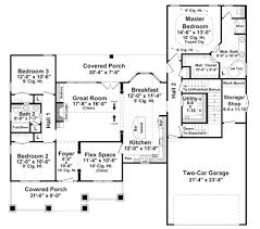 four bedroom ranch house plans rambler house plans 79178 4 bedroom floor ranch on with endearing